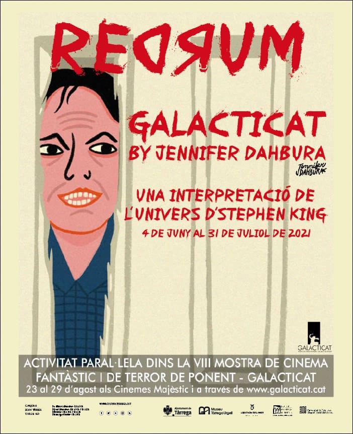 REDRUM by Jennifer Dahbura, una interpretació de l'univers d'Stephen King