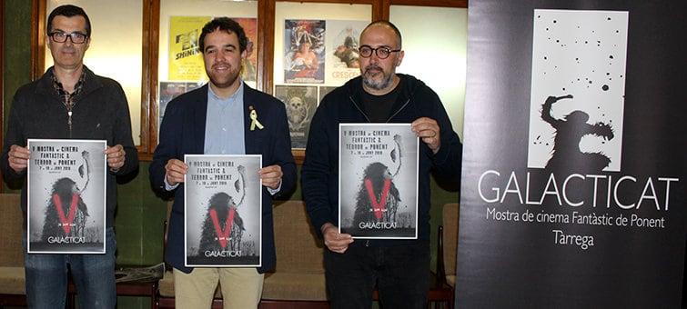 Tàrrega inaugura Galacticat, la Mostra de Cinema Fantàstic i de Terror de Ponent