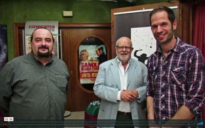 Jaume Figueras al Cinema Majèstic de Tàrrega conversant sobre Galacticat