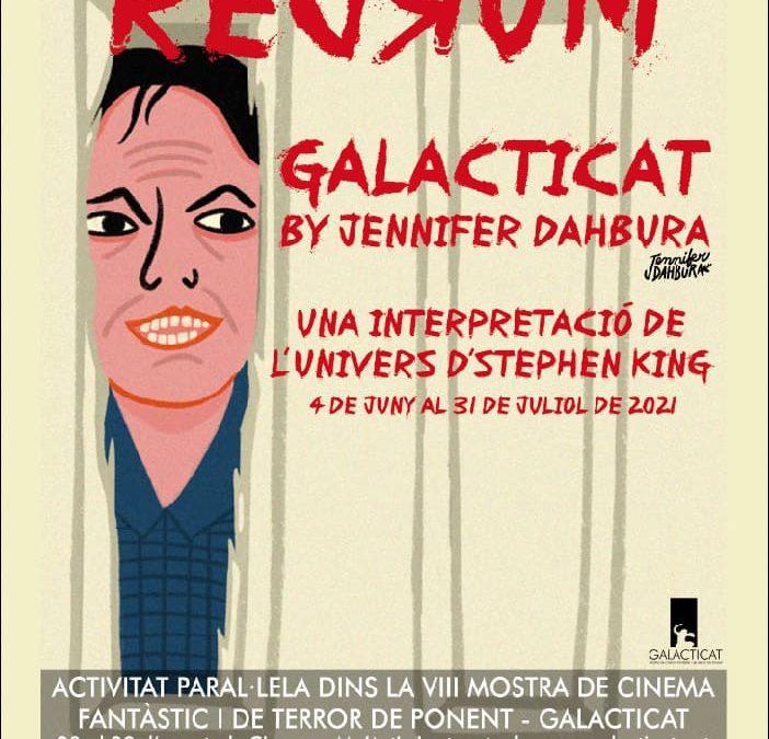Exposició del Galacticat: REDRUM by Jennifer Dahbura, una interpretació de l'univers d'Stephen King