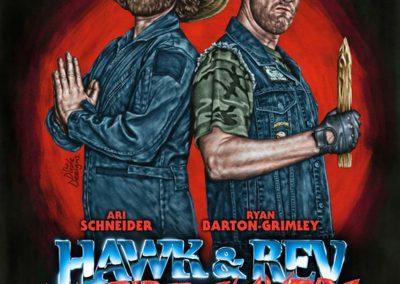 HAWK AND REV VAMPIRE SLAYER